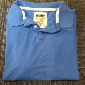 Other - Blue collared Polo